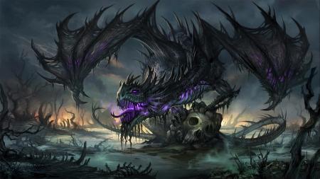Nel'dratha dragon